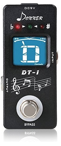 Donner DT-1 Chromatic Guitar Pedal Tuner Review