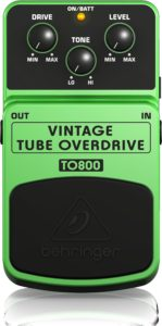 Behringer TO800 Vintage Tube Overdrive Pedal Review