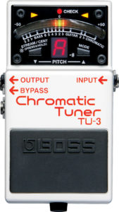 Boss TU-3 Chromatic Tuner Pedal Review