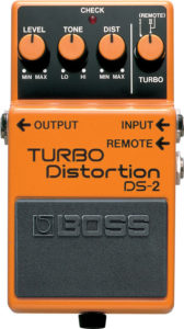 Boss DS-2 Turbo Distortion Pedal Review