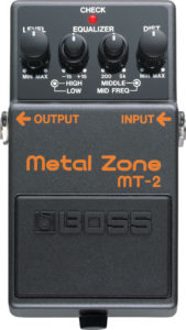 Boss MT-2 Metal Zone Pedal Review