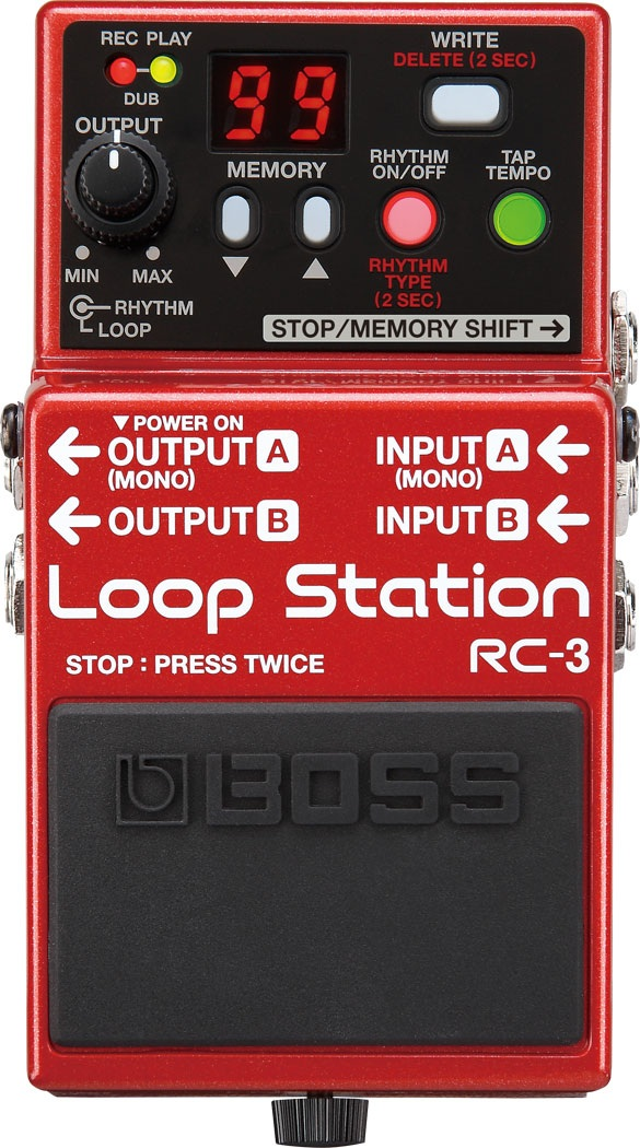 Boss RC-3 Loop Station Pedal Review