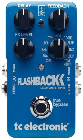 TC Electronic FlashBack Delay and Looper Pedal Review