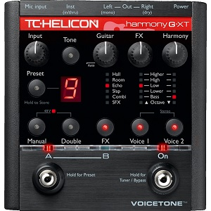 TC-Helicon VoiceTone Harmony-G XT Pedal Review