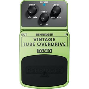 Read more about the article Behringer TO800 Vintage Tube Overdrive Review (2021)