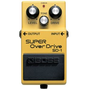 Boss SD-1 Super Overdrive Pedal Review Thumbnail