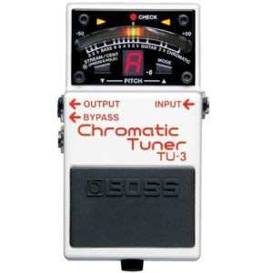 Read more about the article Boss TU-3 Chromatic Tuner Review (2021)