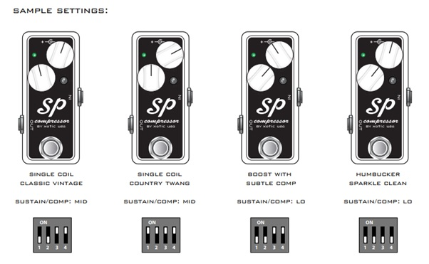Xotic SP Compressor Review - Tone Start on