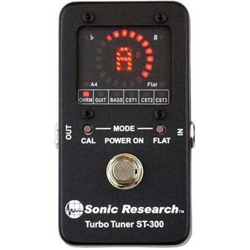 Sonic Research ST-300 Turbo Tuner Front View