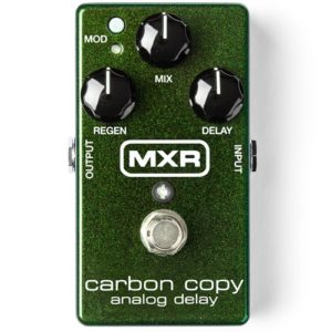 Read more about the article MXR 169 Carbon Copy Analog Delay Pedal Review (2021)