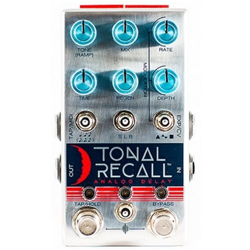 Chase Bliss Tonal Recall Analog Delay Pedal Front View