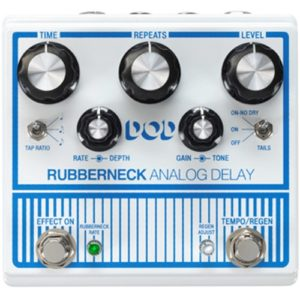 Read more about the article DOD Rubberneck Analog Delay Pedal Review (2021)