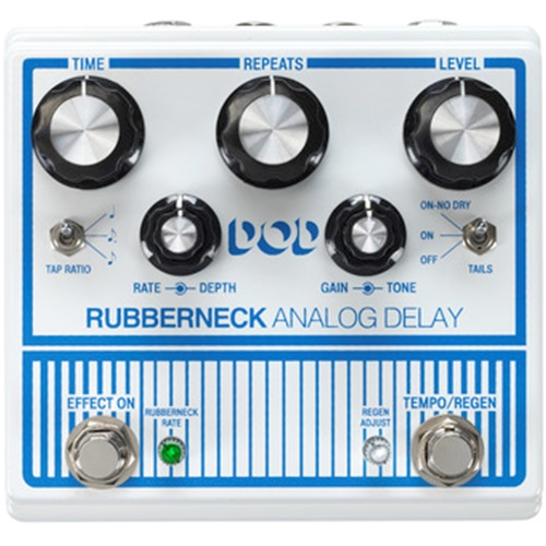 DOD Rubberneck Analog Delay Pedal Front View