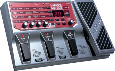 BOSS ME-20B Multi-Effects Pedal