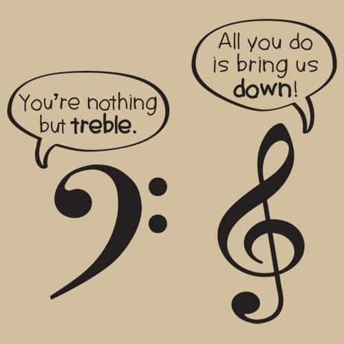 Nothing but Treble