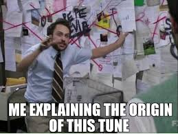 Trying To Explain The Origin Of A Song