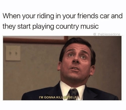 When You're Riding In Your Friends Car